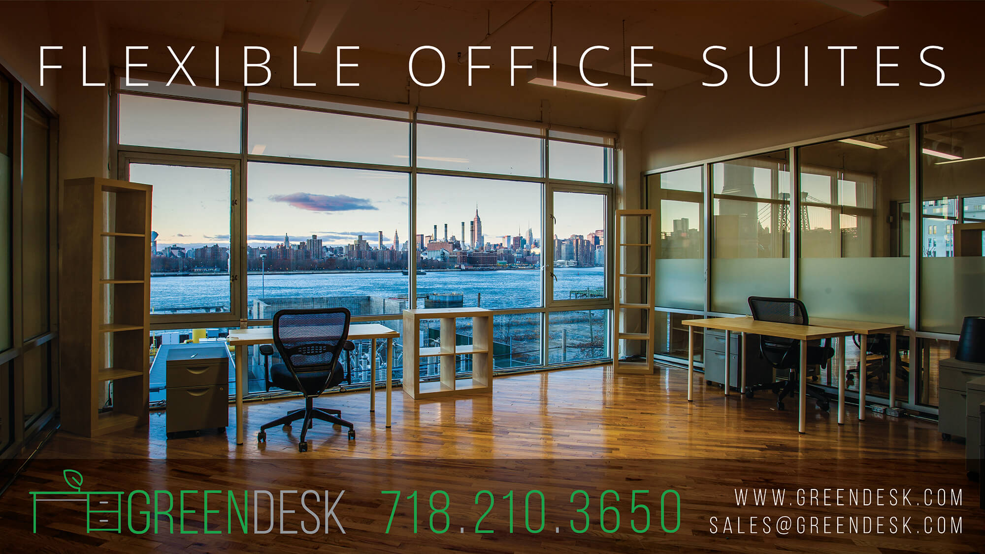 Greendesk Offices Ad