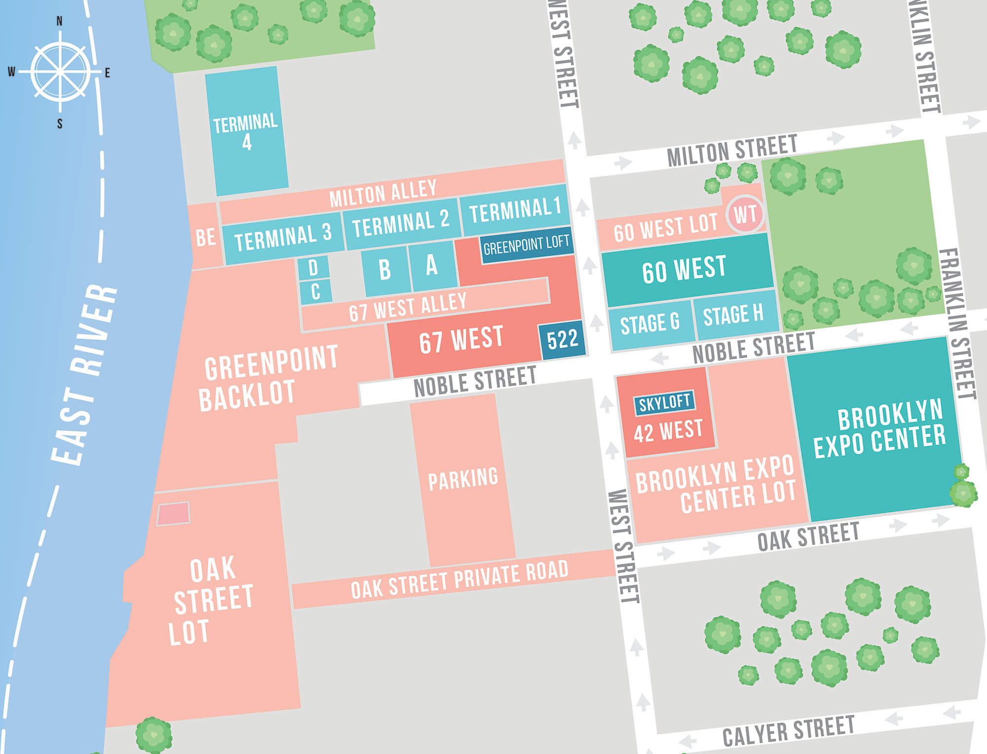 Greenpoint Map