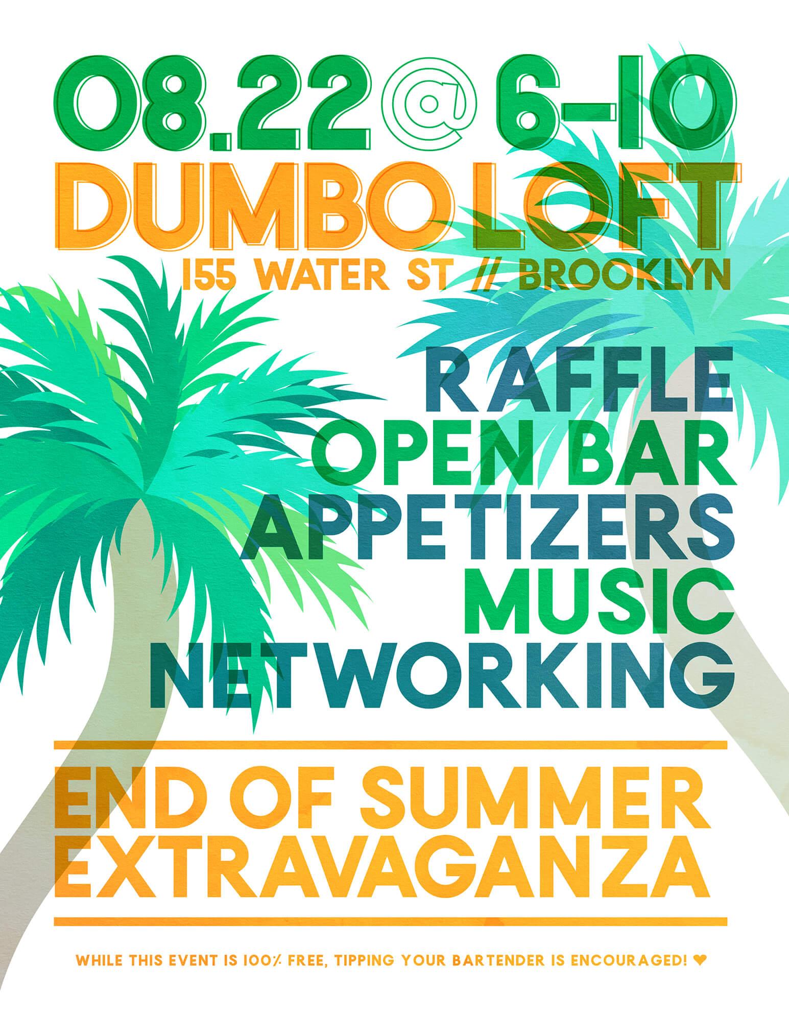 Summer Event Flier