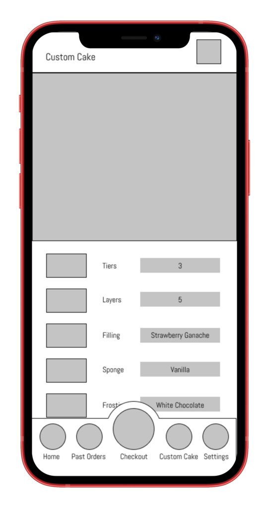 Custom Page Mockup