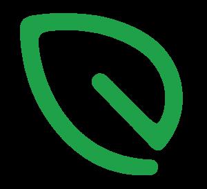 Greendesk Leaf Logo Icon